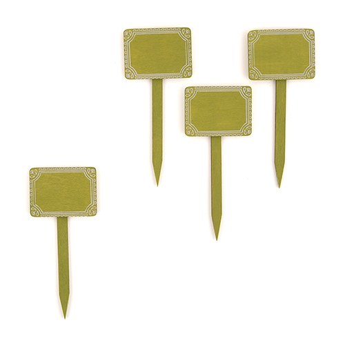 Miniature Wooden Decorative Stakes