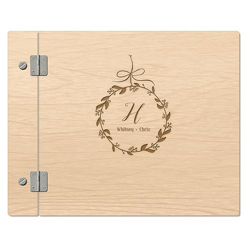 Wedding Photo Books Uk: Wooden Wedding Guest Book