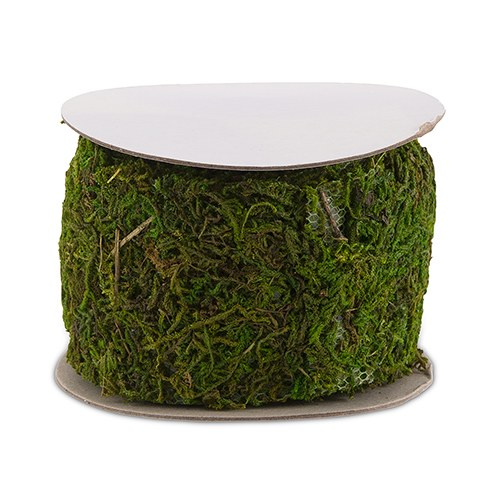 Roll Of Faux Moss Ribbon
