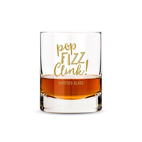 Classic Rocks Glass - Pop Fizz Clink! Printing