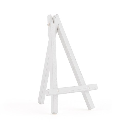 White Wooden Easels - Small