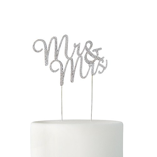 wedding cake toppers mr and mrs rhinestone mr amp mrs cake topper silver weddingstar 26547