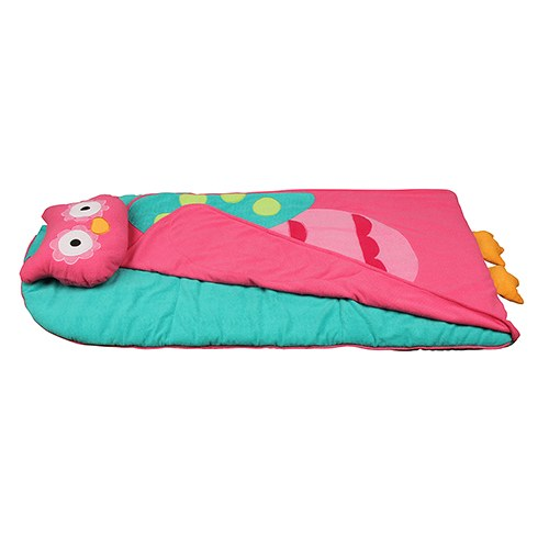 Roll Up Owl Nap Mat