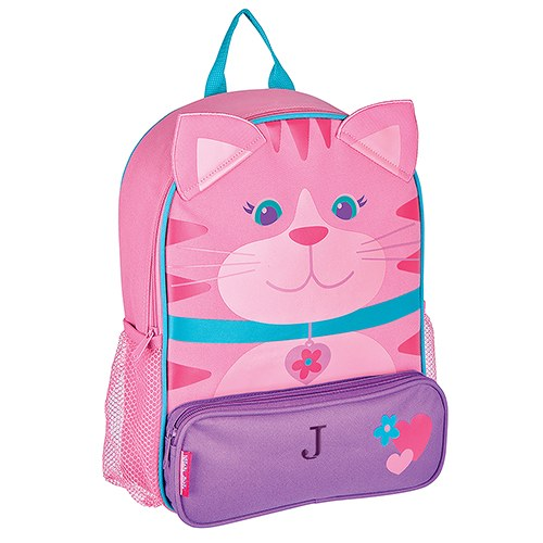 Personalized Kids Backpack - Pink Kitty