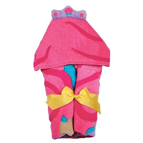 Hooded Towel For Kids - Mermaid