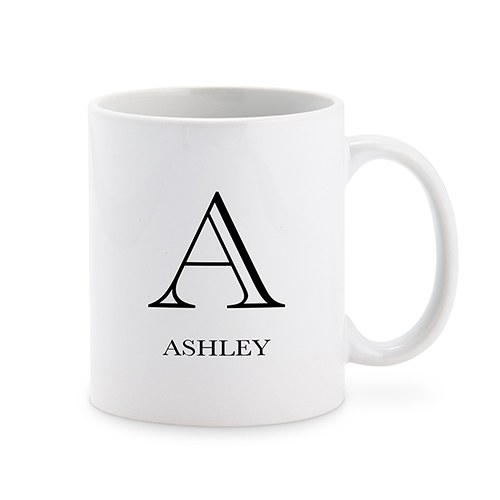Personalized Coffee Mug - Classic Monogram