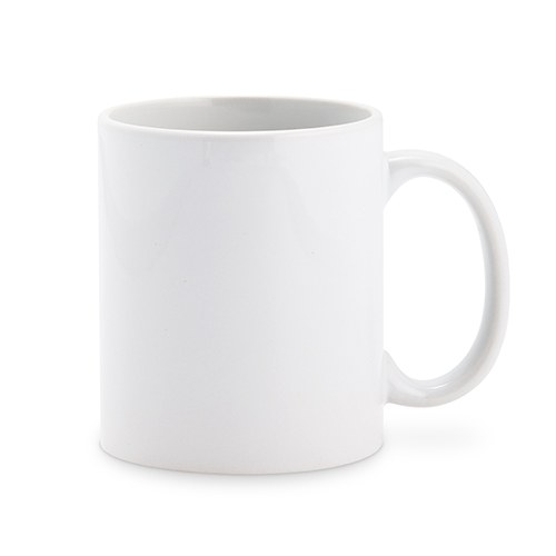 Ceramic Coffee Mug – Plain White