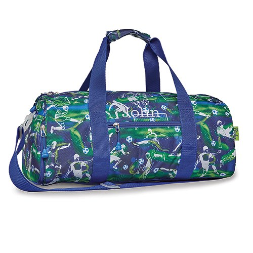 Personalized Kids Duffle Bag - Soccer Star