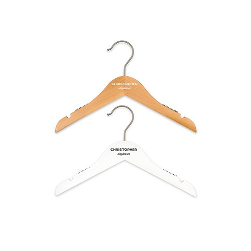 Personalized Ring Bearer Hanger - Classic Print