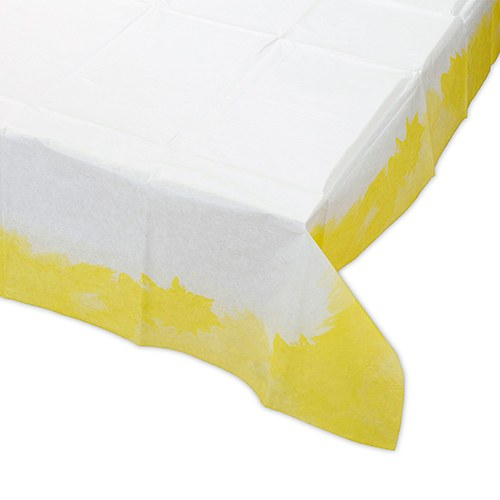 Bright Yellow Square Table Cover