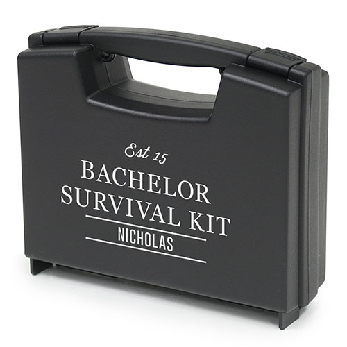 Personalized Briefcase - Bachelor Survival Case