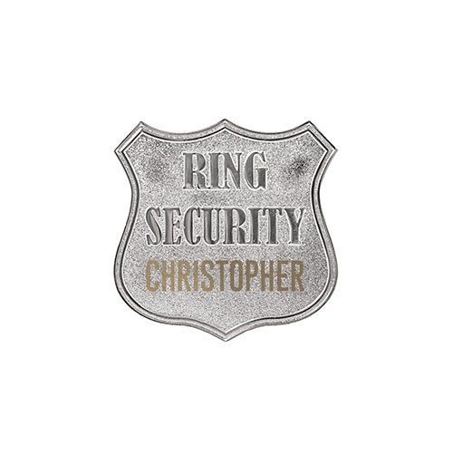 Ring Security Badge