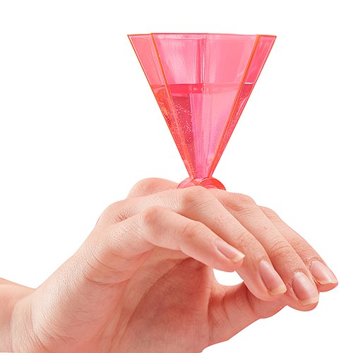 Ring Party Shot Glasses - Hot Pink