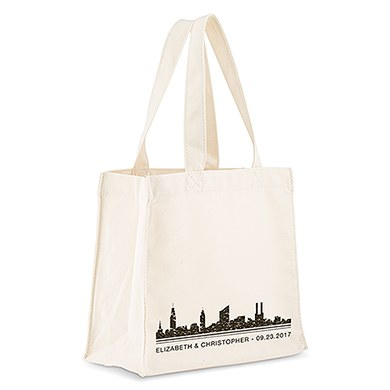 City Style Personalised Tote Bag - The Knot Shop