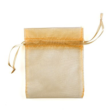 Large Organza Fabric Drawstring Bag