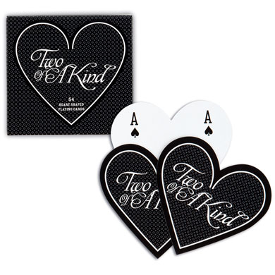 Heart Shaped Playing Cards Favour in Box