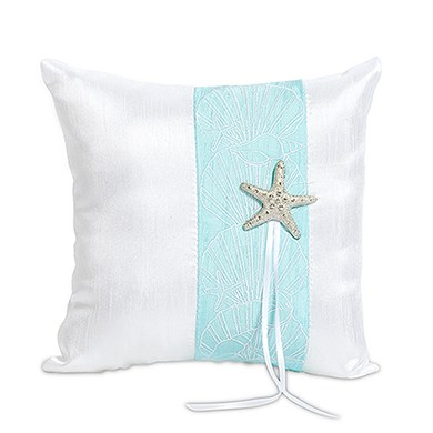 Seaside Allure Ring Cushion
