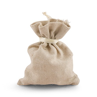 Cotton Linen Drawstring Favor Bags-The Knot Shop - The Knot Shop