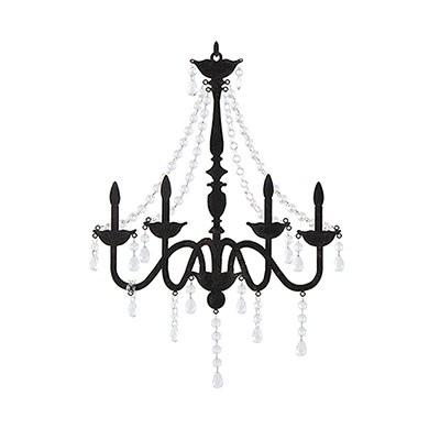 Chandelier Silhouette Wall Decoration - The Knot Shop