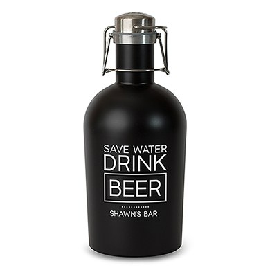 Stainless Steel Beer Growler  Drink Beer