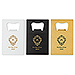 Personalized Metal Credit Card Bottle Opener