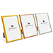 Medium 5 x 7 Metallic Picture Frame - Gold, Silver, or Rose Gold
