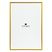 Large 12 x 18 Metallic Picture Frame - Gold, Silver, or Rose Gold