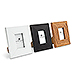 Small 1.75 x 2.5 Classic Picture Frame - Black, White, or Fabricated Wood