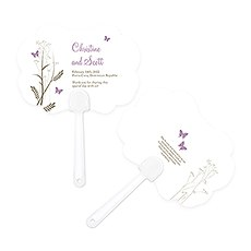 Romantic Butterfly Personalized Hand Fan