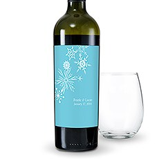 Winter Finery Wine Label