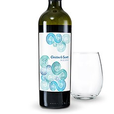 Sea Breeze Wine Label