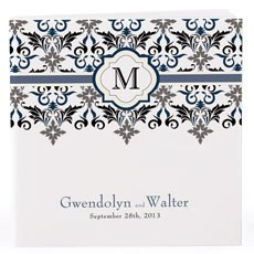 Personalized Notepad Favor Lavish Monogram