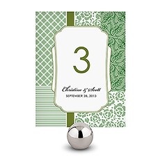 Eclectic Patterns Table Number