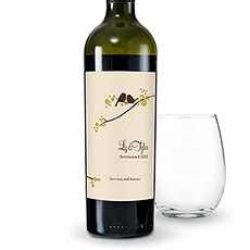 Love Bird Wine Label