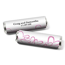 Contemporary Heart Candy Roll Wrap