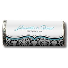 Love Bird Damask Nut Free Gourmet Milk Chocolate Bar