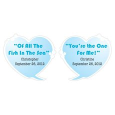 Speech Bubble Hearts Set