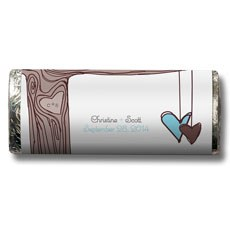 Heart Strings Nut Free Gourmet Milk Chocolate Bar