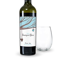 Heart Strings Wine Label