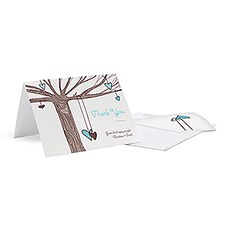Heart Strings Thank You Card