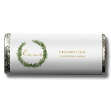 Love Wreath Nut Free Gourmet Milk Chocolate Bar
