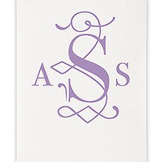 Classic Deco Monogram Personalized Photo Backdrop