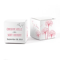 Dandelion Wishes Favor Box Wrap