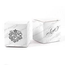 Parisian Love Letter Favor Box Wrap
