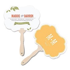 Vineyard Personalized Hand Fan