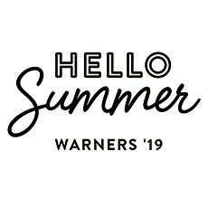 Personalized Summer Vibes Rubber Stamp