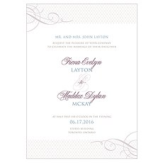 Contemporary Vintage Invitation