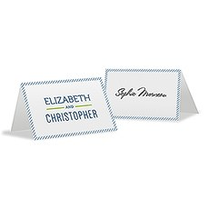 Smart Type Place Card With Fold