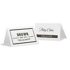 Bistro Bliss Place Card With Fold