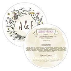 personalized wedding ceremony programs the knot shop